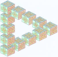 knotwork blocks illusion by herbevore