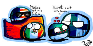 Mexico or Estonia, maybe both