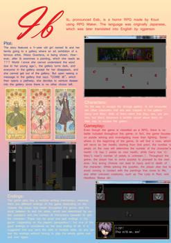 Ib (Game): Poster Review