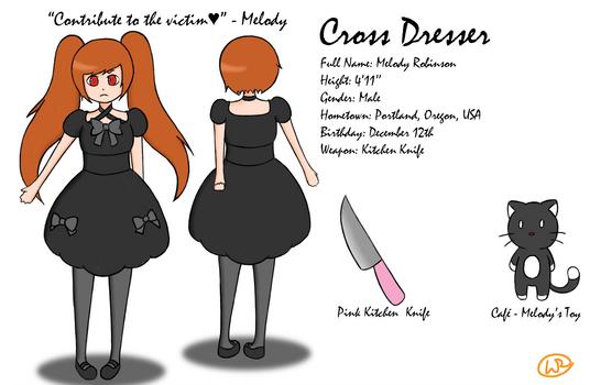 Creepy Pasta OC: Cross Dresser
