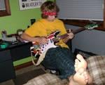 Teen Guitar Feet