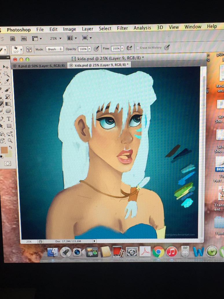 Work in Progress - KIDA  by Claire777555