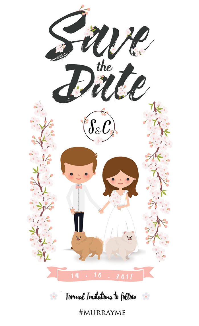Charmaine Wedding Invite by Claire777555
