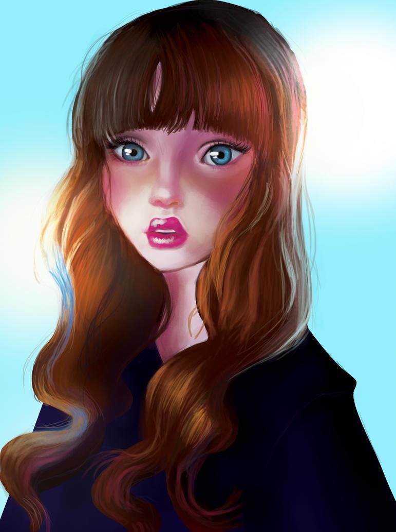 Practice - Portrait by Claire777555