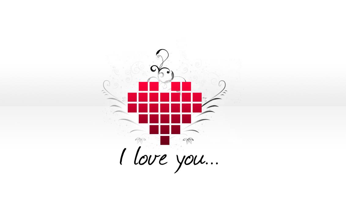 pixel hearth 39 i love you 39 by fr34kc00l on deviantart. Black Bedroom Furniture Sets. Home Design Ideas