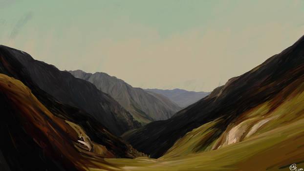 Landscape : Pyrenees