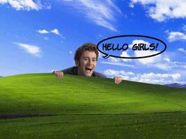 Hello Girls- DW Wallpaper by neerai
