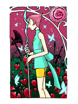 Pearl on the Strawberry Fields