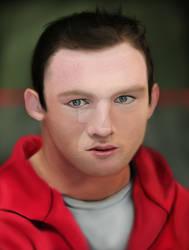 Wayne Rooney by sameer-patil