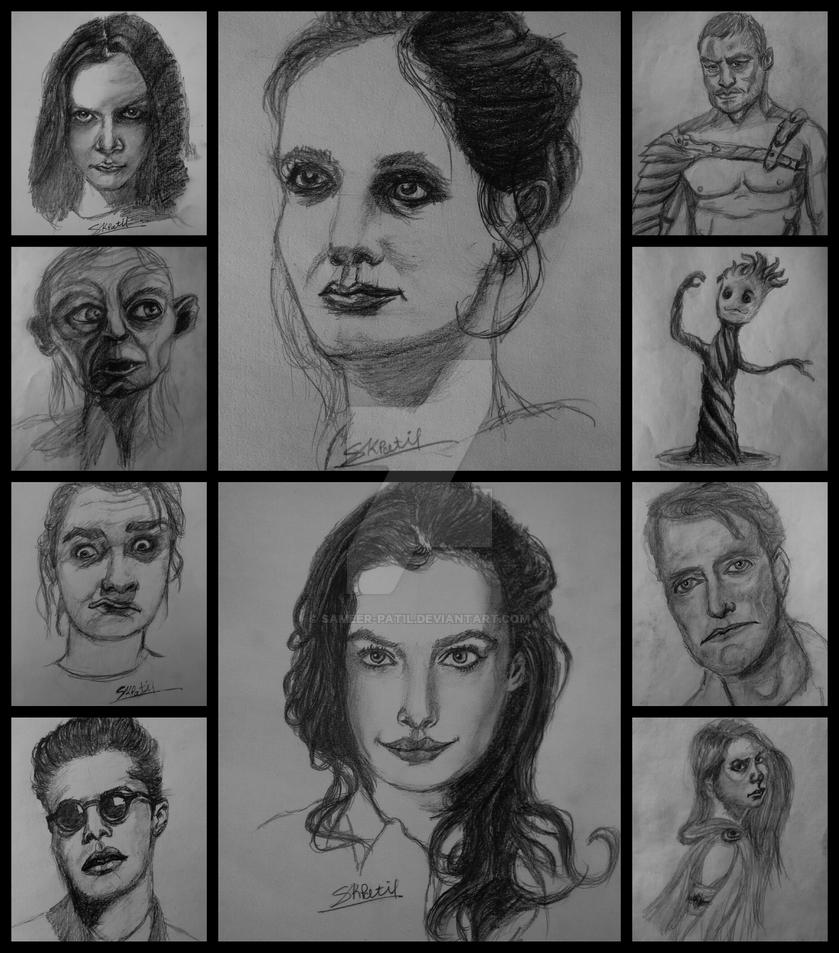 Drawings by sameer-patil