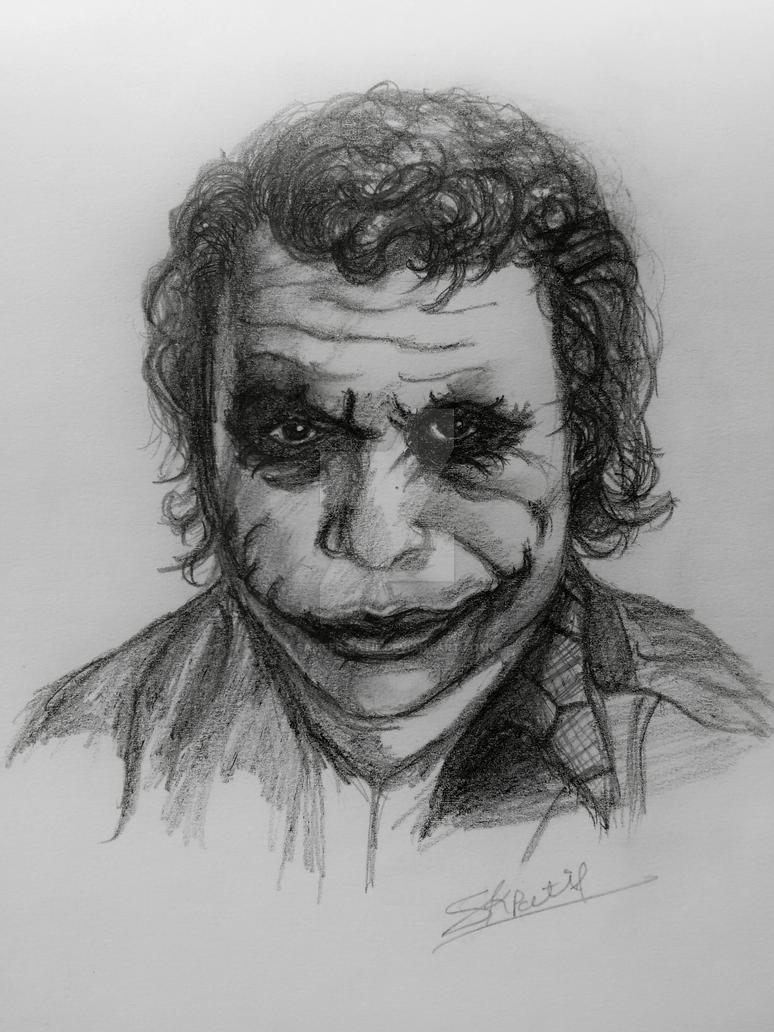 Joker by sameer-patil