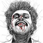 The Weeknd by sameer-patil