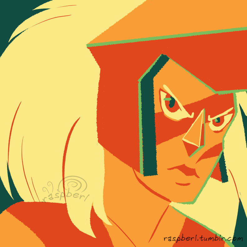 "Part of a Color Palette challenge on Tumblr I keep accidentally typing ""Jaspber"" instead of ""Jasper""."