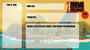 Total Drama Island: Round 2 Application by King-JB