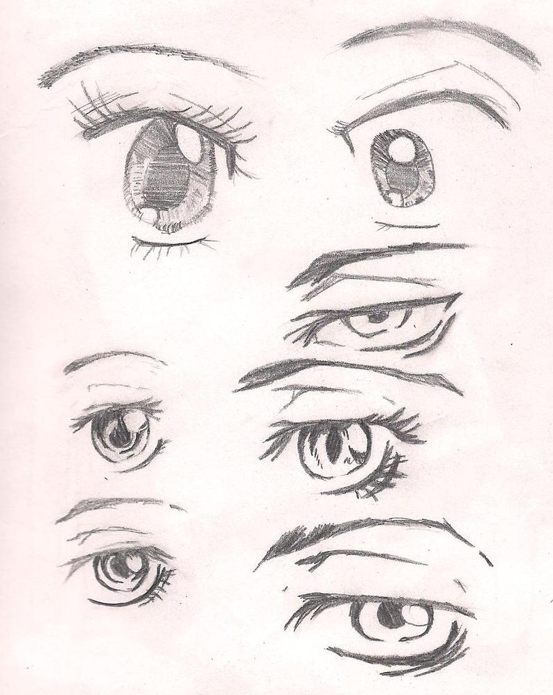anime eyes by 13ladyjiyu on deviantart