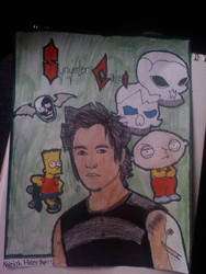 Synyster Gates of A7X