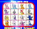 Build a Bear Ponies!new wave 7 included!