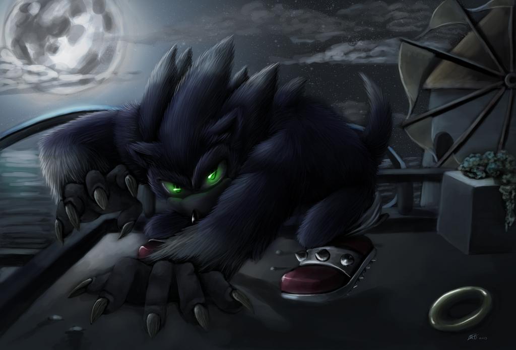 When Night Fall by martiigr5