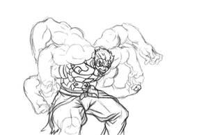 asura the rage demon by joejr2