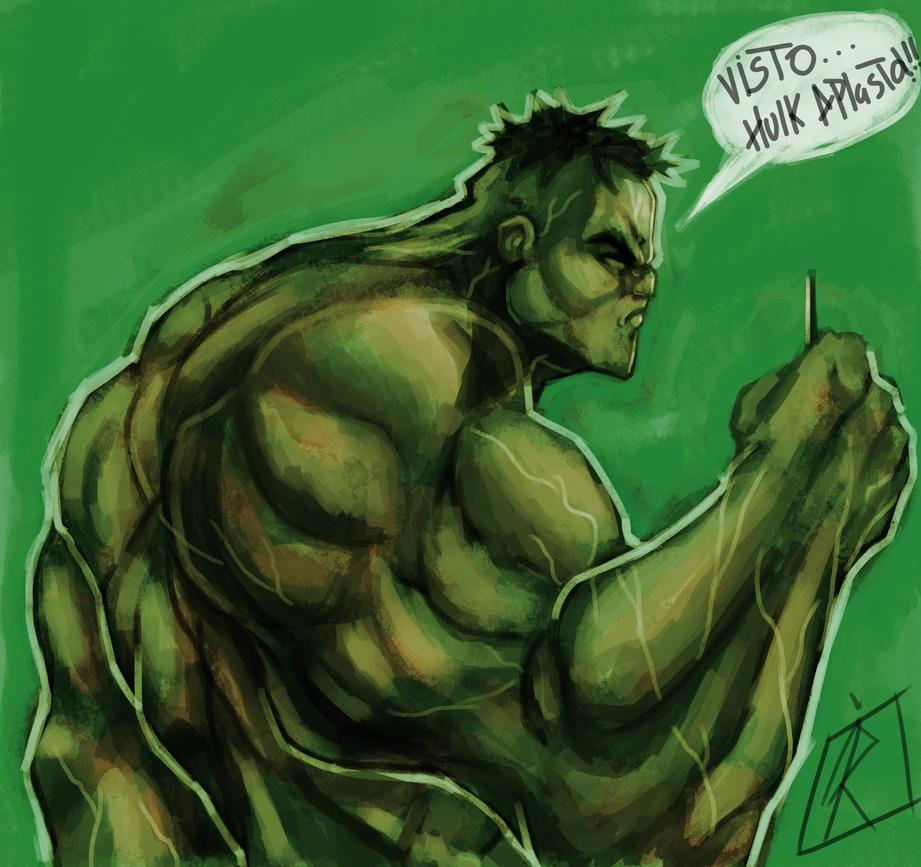 Hulk Smash by joejr2
