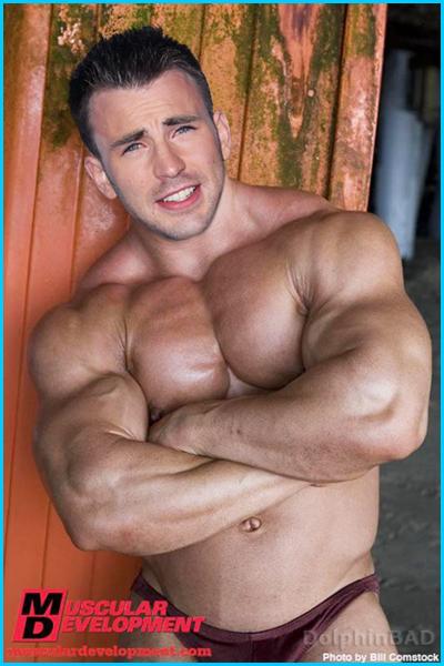 Крис эванс голый фото