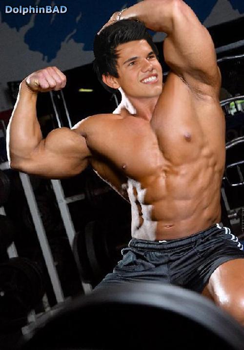 Musclemorph Taylor Lautner 1 By Dolphinbad On Deviantart