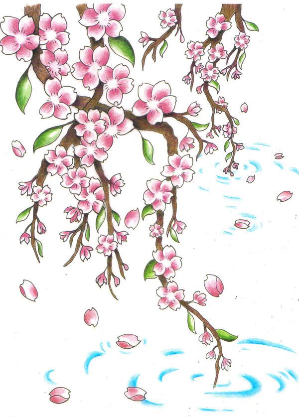 cherry blossom remix by jen van