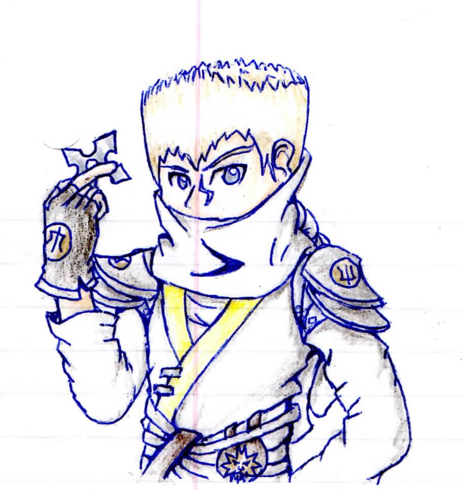 Zane in Naruto by awyeah21