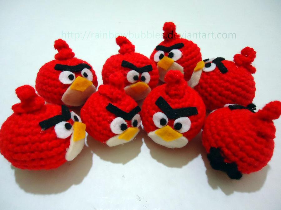 Angry Birds Amigurumi by Rainbowbubbles on DeviantArt