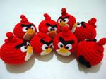Angry Birds Amigurumi by Rainbowbubbles