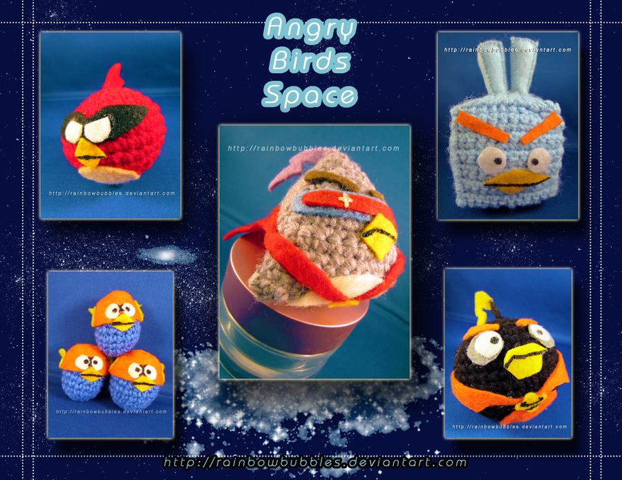 Amigurumi Angry Birds Space : Angry Birds Space Amigurumi by Rainbowbubbles on DeviantArt
