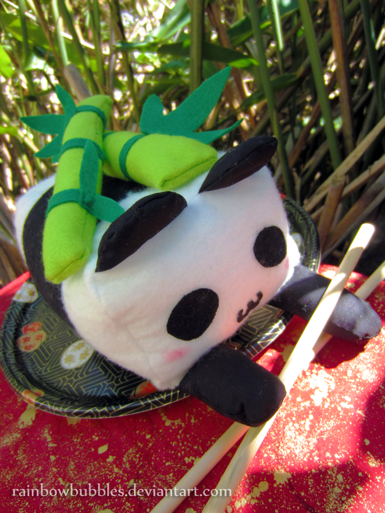FOR SALE - Panda Sushi by Rainbowbubbles