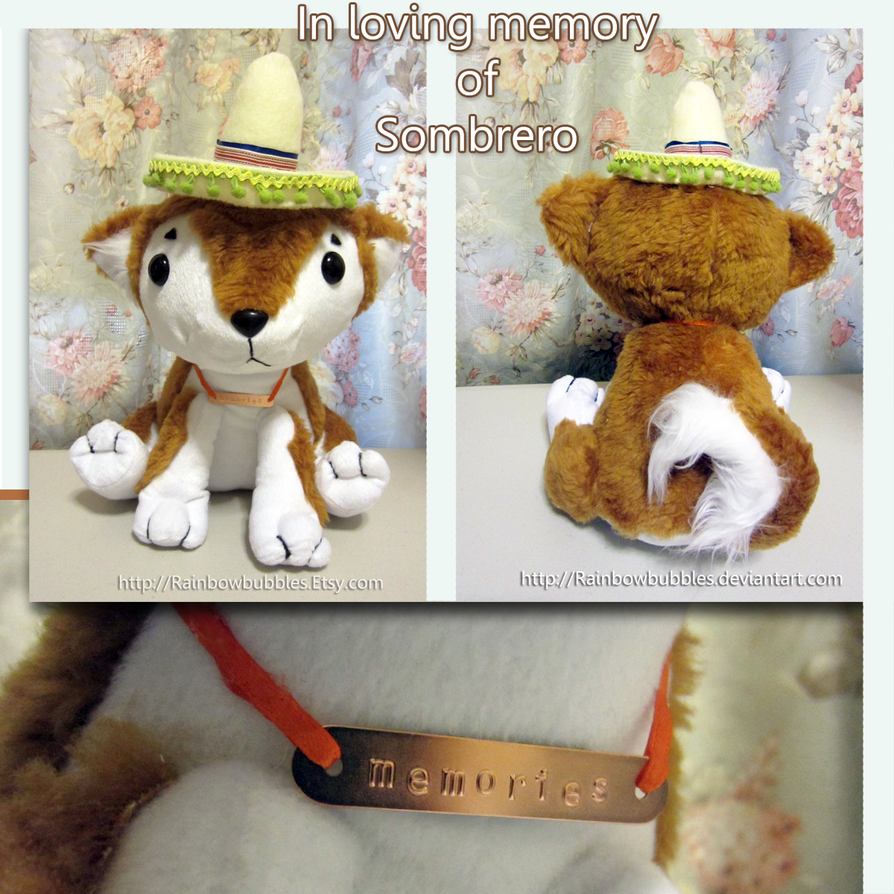 Commission- Sombrero the red Shiba Inu puppy by Rainbowbubbles