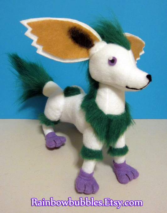 Commission- Noishe from Tales of Symphonia plush by Rainbowbubbles