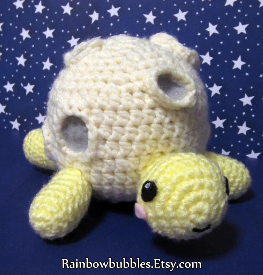 Commission- Moon Turtle by Rainbowbubbles