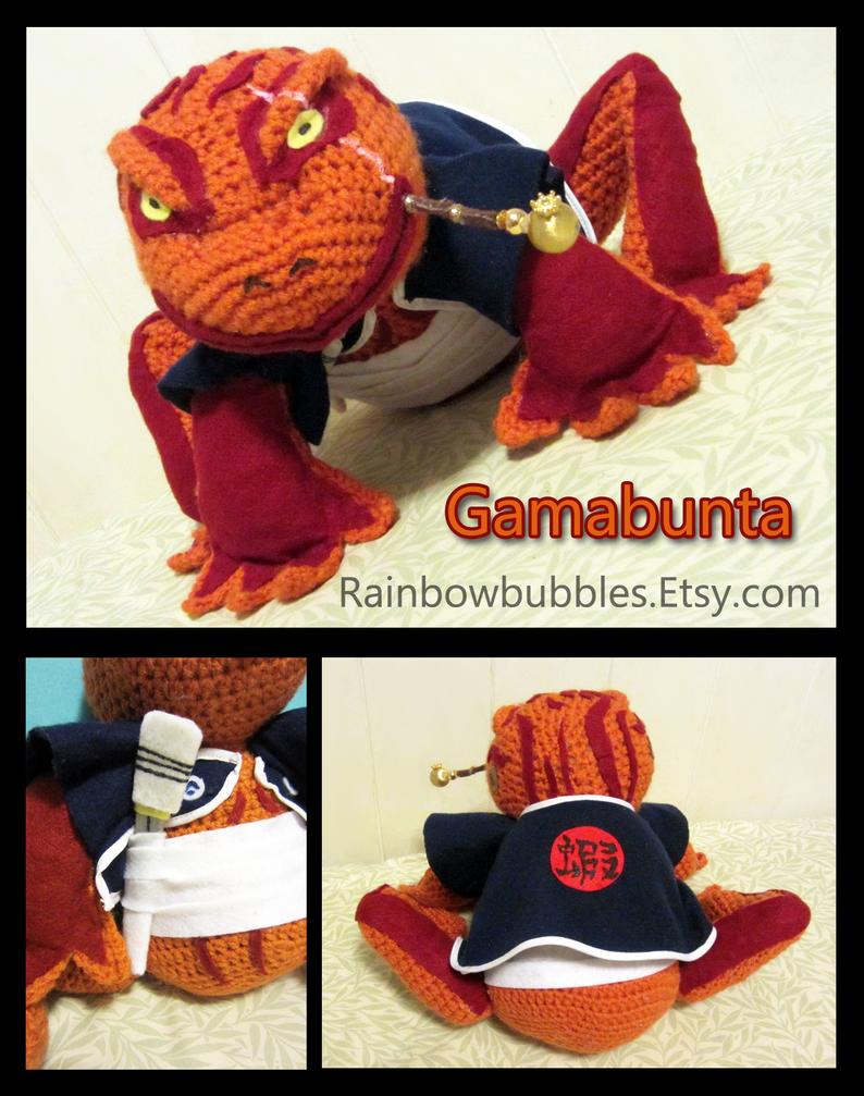 Commission: Talking Gambunta Amigurumi fanplush by Rainbowbubbles