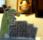 Draw A Dinosaur Day by Shaon