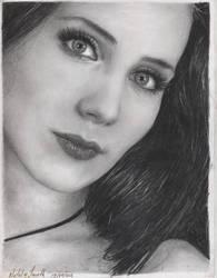 Simone Simons Portrait by LaPicher