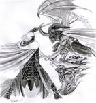Drizzt vs. Illidan