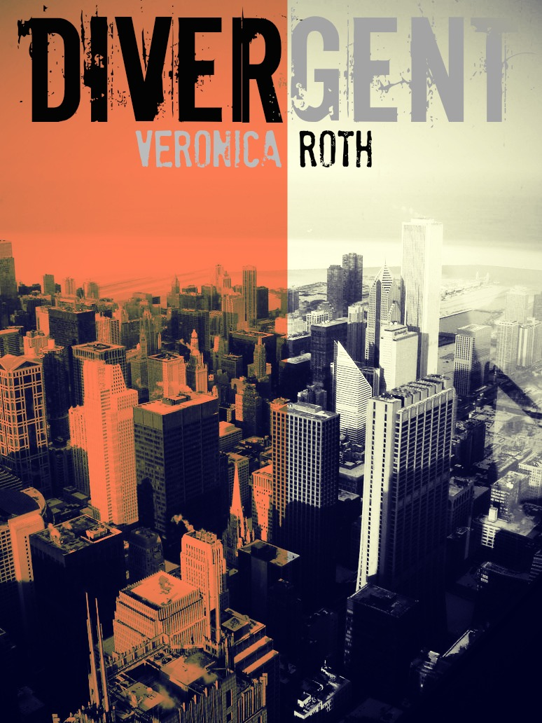 Divergent Book Cover Drawing : Divergent cover by clockworkshadows on deviantart