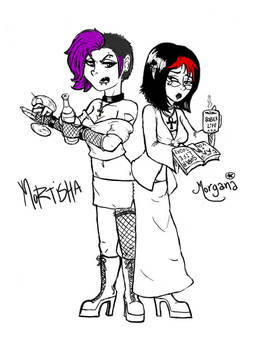 Mortisha and Morgana revamped