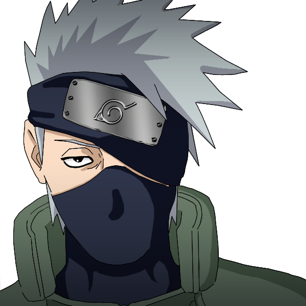 Image result for kakashi png