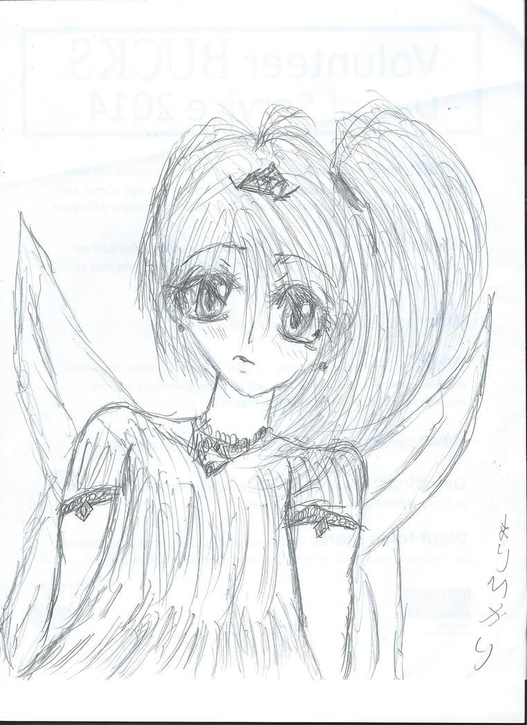 Fairy princess doodle by marihikari