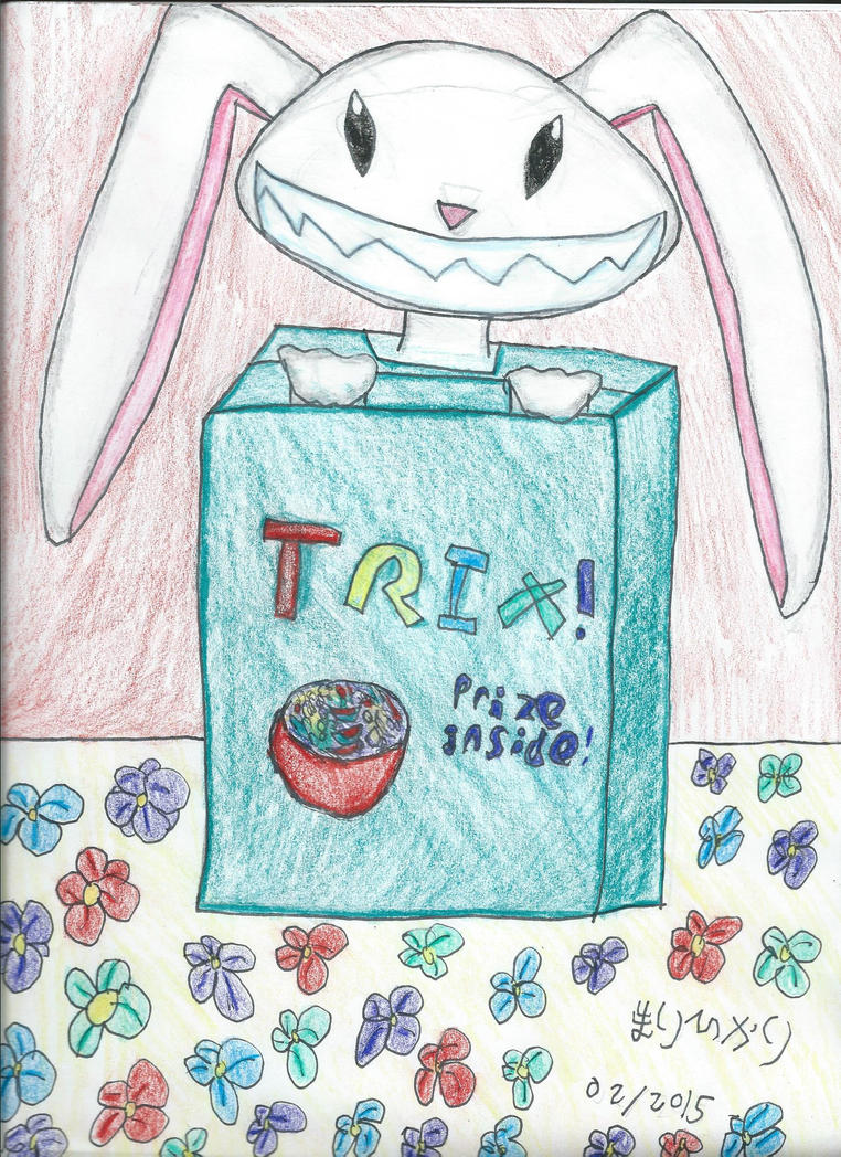 Silly rabbit! Trix are for... by marihikari