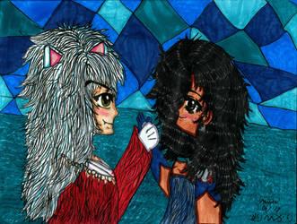 Inuyasha and Jane by marihikari