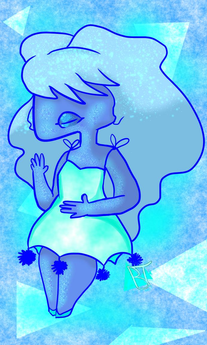 Fanart Friday Sapphire by Bubblegumteal
