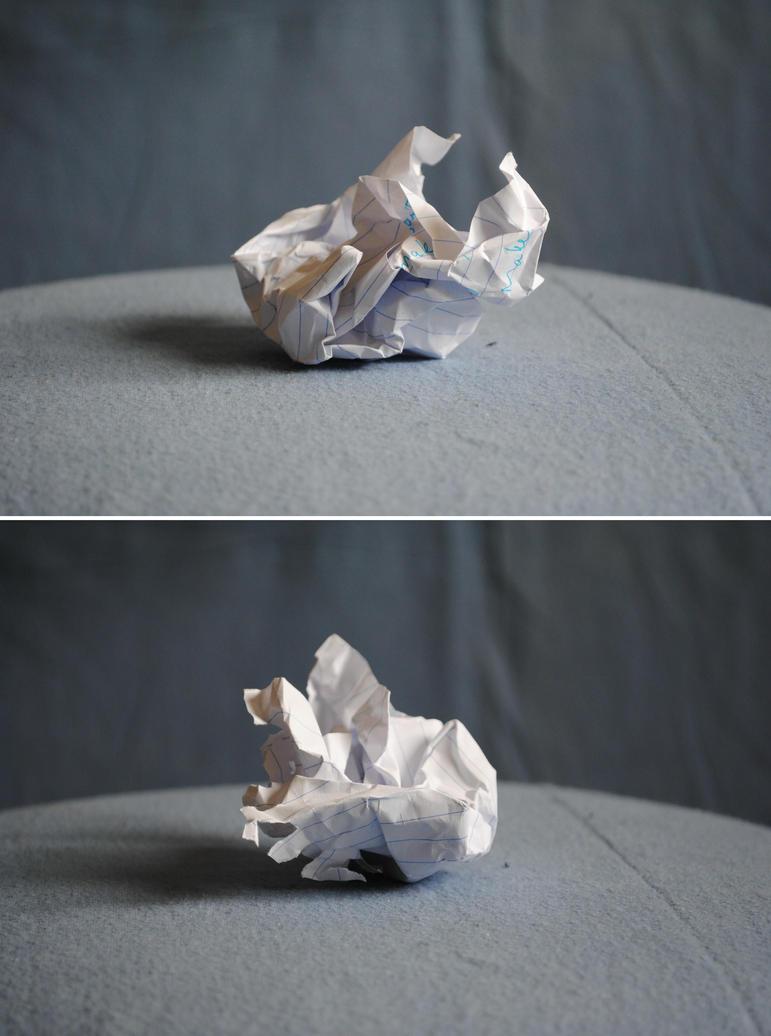 crumpled paper by piratelotus stock on deviantart. Black Bedroom Furniture Sets. Home Design Ideas