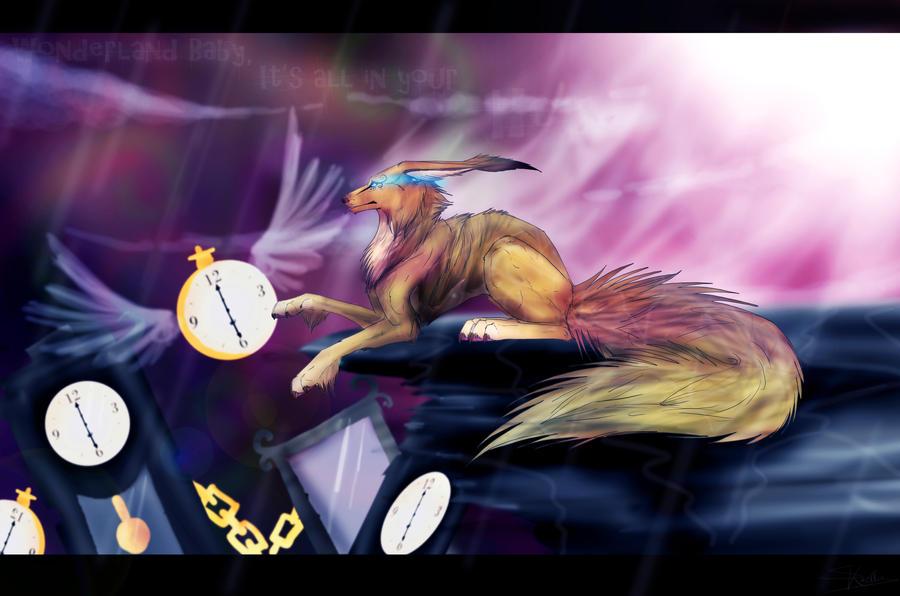 .: Where's my wonderland :. Speedpaint by Kasamm