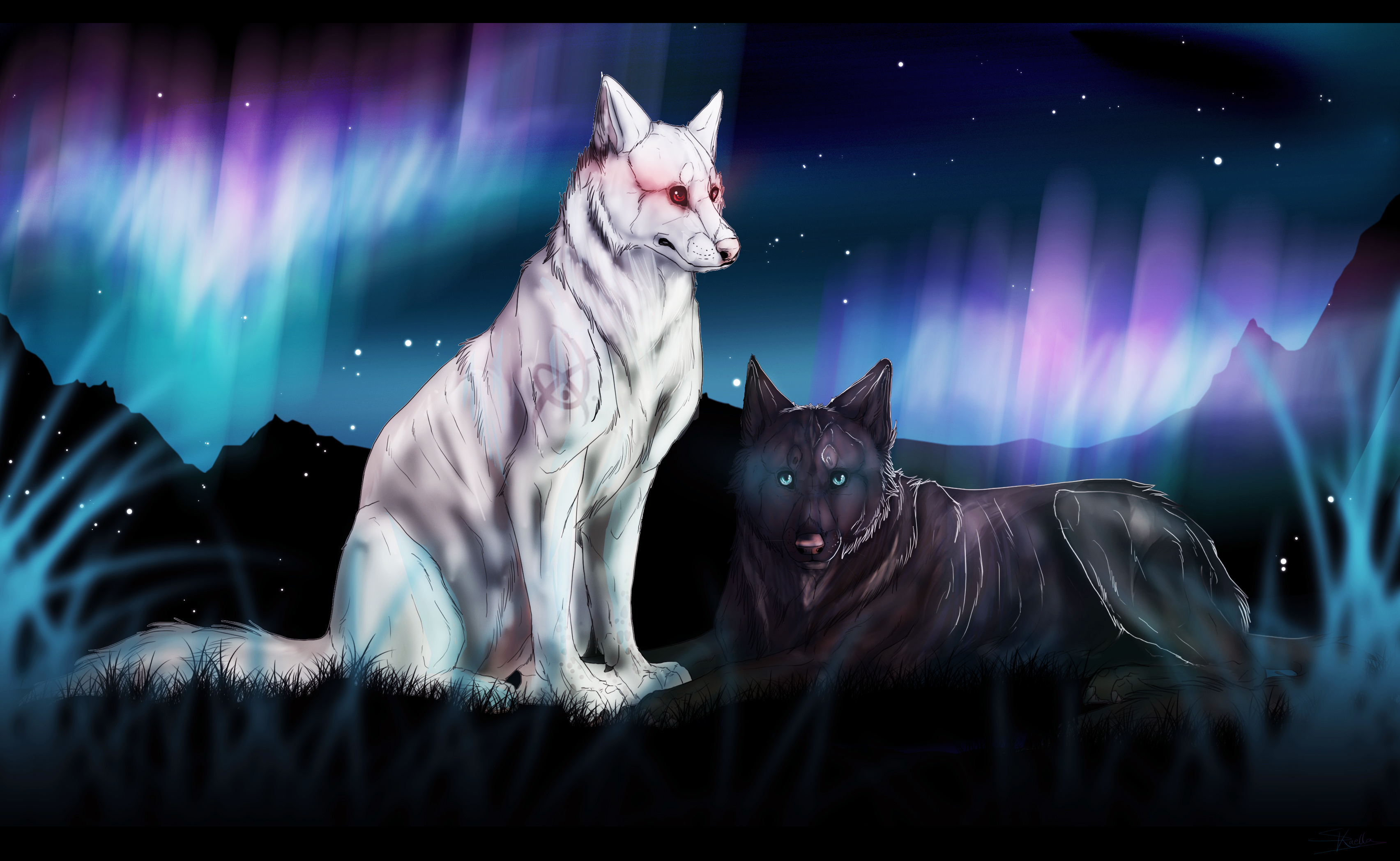 Dessins de chiens - Page 2 __lost_in_paradise___by_skaella-d6a3gri