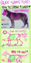 Tutorial - How to draw a wolf